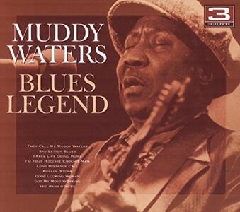 Blues Legend - CD Audio di Muddy Waters