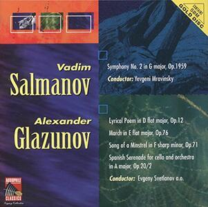 Symphony No 2 & Lyrical Poem ea - CD Audio