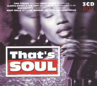 That's Soul - CD Audio