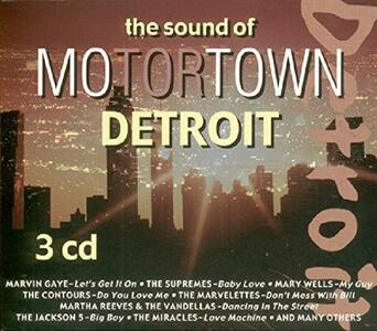 Sound of Motortown Detroi - CD Audio