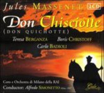 Don Quichotte - CD Audio di Jules Massenet