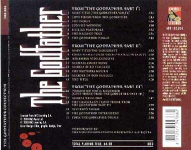 Godfather Collection (Colonna Sonora) - CD Audio - 2