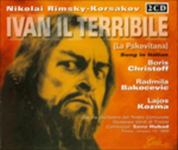 Ivan Il Terrible - CD Audio di Nikolai Rimsky-Korsakov