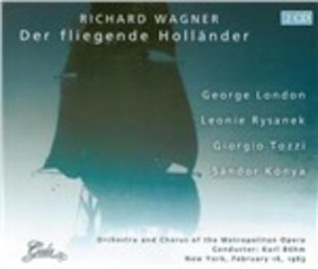 L'olandese volante (Der Fliegende Holländer) - CD Audio di Richard Wagner