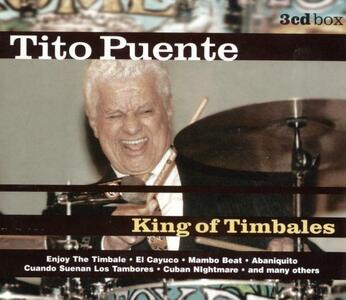 King of Timbales - CD Audio di Tito Puente