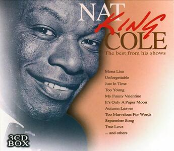 Best from His Shows - CD Audio di Nat King Cole