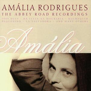 Abbey Road Recordings - CD Audio di Amalia Rodrigues