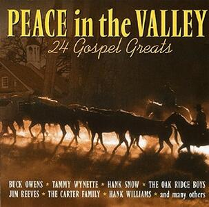 Peace in the Valley - CD Audio
