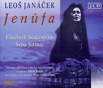 Jenufa - CD Audio di Leos Janacek