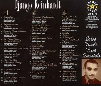 Solos Duets Trios and... - CD Audio di Django Reinhardt - 2