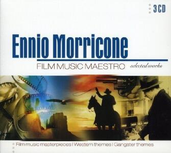 Film Music Maestro (Colonna Sonora) - CD Audio di Ennio Morricone