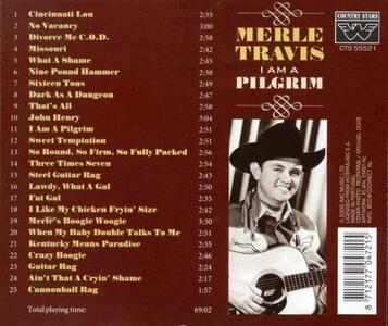 I Am a Pilgrim - CD Audio di Merle Travis - 2