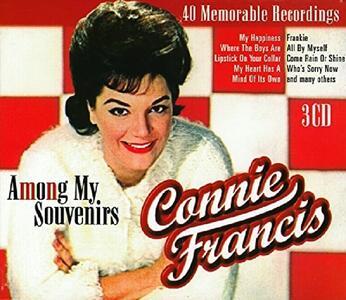 40 Memorable Recordings - CD Audio di Connie Francis