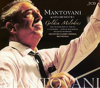 Golden Melodies - CD Audio di Mantovani Orchestra