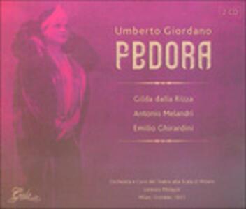 Fedora - CD Audio di Umberto Giordano