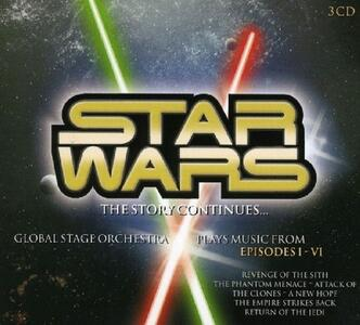 Star Wars. The Story Continues (Colonna Sonora) - CD Audio di Global Stage Orchestra