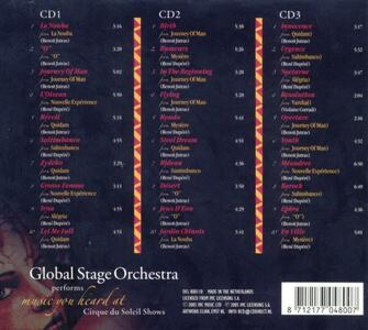 Music You Heard at Cirque Soleil Show (Colonna Sonora) - CD Audio di Global Stage Orchestra - 2