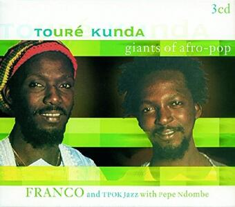 Giants of Afro Pop - CD Audio di Touré Kunda