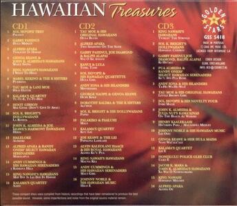 Hawaiian Treasures - CD Audio - 2