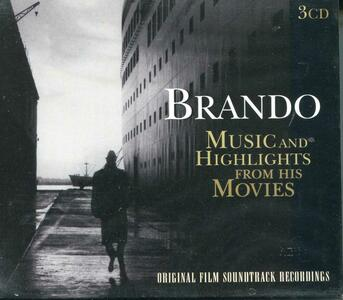 Brando. Music and Highlights from the Movies - CD Audio