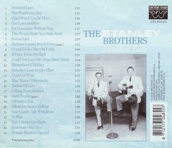 Sweetest Love - CD Audio di Stanley Brothers - 2