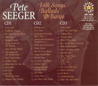 Folk Songs Ballads & Banjo - CD Audio di Pete Seeger - 2