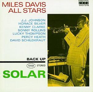 Solar - CD Audio di Miles Davis