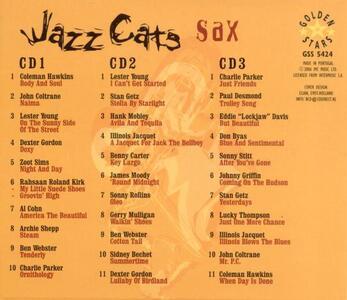 Jazz Cats Sax - CD Audio - 2