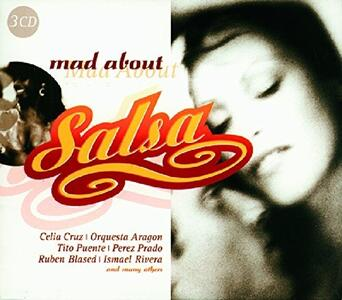 Mad About Salsa - CD Audio