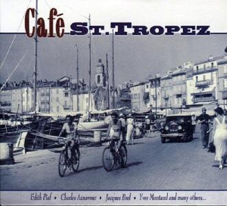 Café St.Tropez - CD Audio