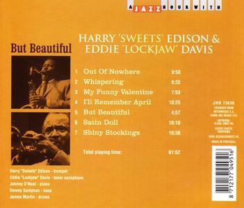 But Beautiful - CD Audio di Eddie Lockjaw Davis,Harry Sweets Edison - 2