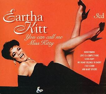 You Can Call Me Miss Kitt - CD Audio di Eartha Kitt