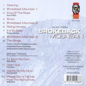 Brokeback Mountain - CD Audio di Global Stage Orchestra - 2