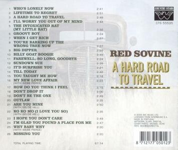 A Hard Road to Travel - CD Audio di Red Sovine - 2