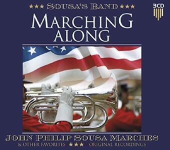 Marching Along - CD Audio di Sousa's Band