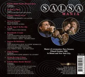 Salsa Mania - CD Audio - 2