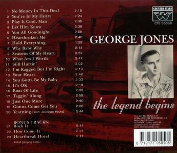 Just One More - CD Audio di George Jones - 2