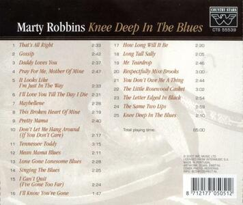 Knee Deep in the Blues - CD Audio di Marty Robbins - 2