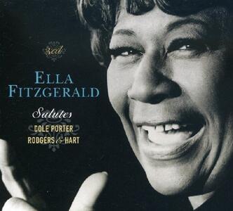 Salutes Cole Porter, Rodgers & Hart - CD Audio di Ella Fitzgerald
