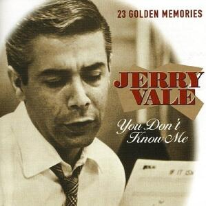 You Don't Know Me - CD Audio di Jerry Vale