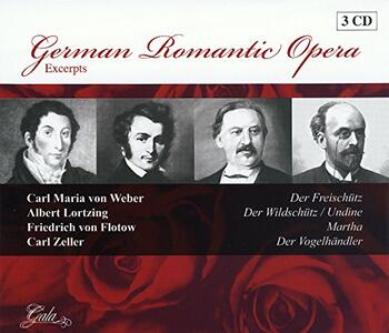 German Romantic Opera - CD Audio