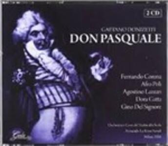 Don Pasquale - CD Audio di Gaetano Donizetti,Fernando Corena,Afro Poli,Dora Gatta