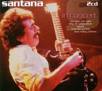 In Concert - CD Audio di Santana