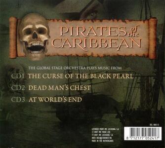 Pirates of the Caribean (Colonna Sonora) - CD Audio di Global Stage Orchestra - 2