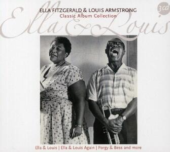 Classic Album Collection - CD Audio di Louis Armstrong,Ella Fitzgerald
