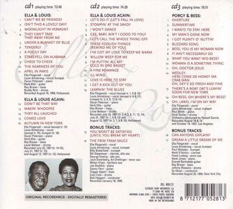 Classic Album Collection - CD Audio di Louis Armstrong,Ella Fitzgerald - 2
