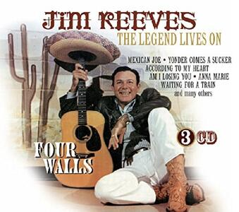 Legend Lives on - CD Audio di Jim Reeves