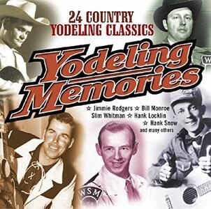 Yodeling Memories - CD Audio
