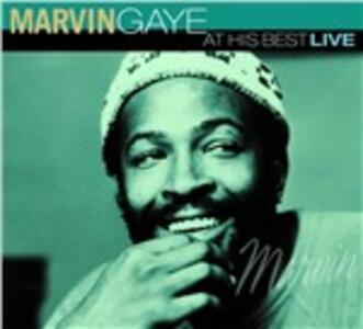 At His Best Live - CD Audio di Marvin Gaye