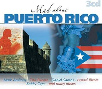 Mad About Puerto Rico - CD Audio